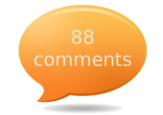 Comment count box for blogger