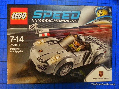 LEGO Speed Champions Porsche 918 Spyder set 75910 review