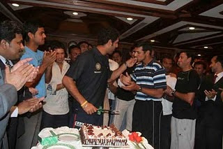 Rahul Dravid Birthday Celebration
