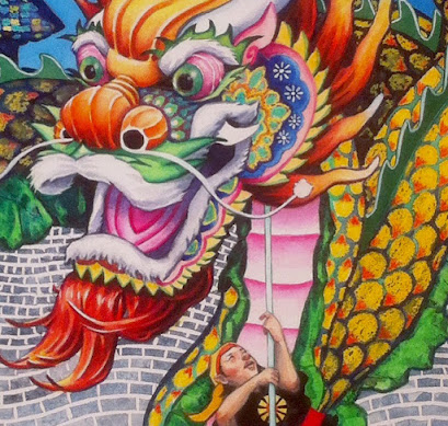 Dragon Dancers detail