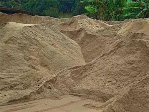 Areia Lavada Média de Esmeraldas - MG