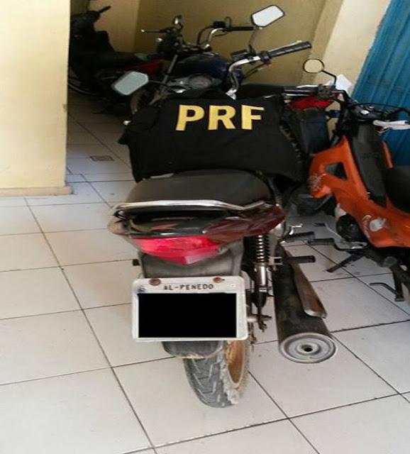 Homem é preso com moto roubada em Nossa Senhora do Socorro