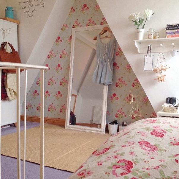 Not all those who wander are lost bedroom dreaming for Cath kidston style bedroom ideas