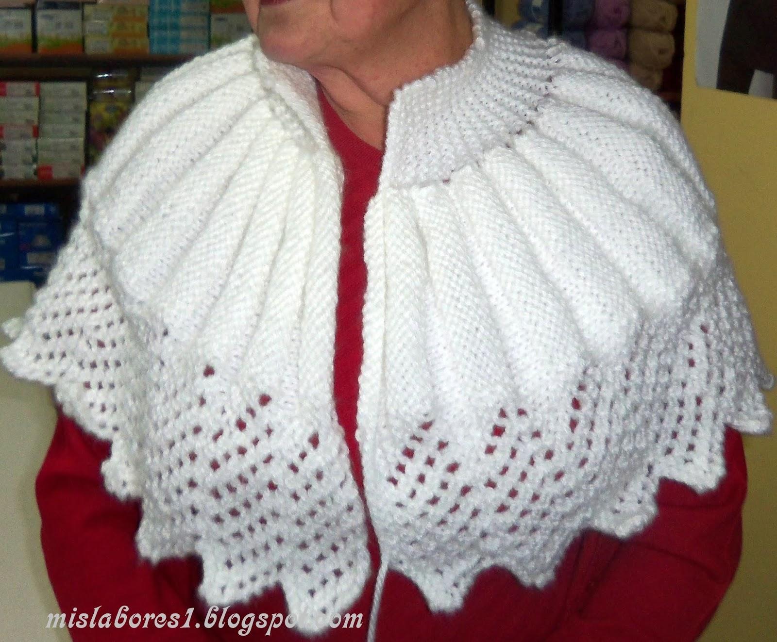 Mis labores capita de punto - Labores de punto de lana ...