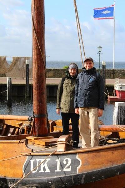 Timi és Áron - egy régi, urki halászhajón
