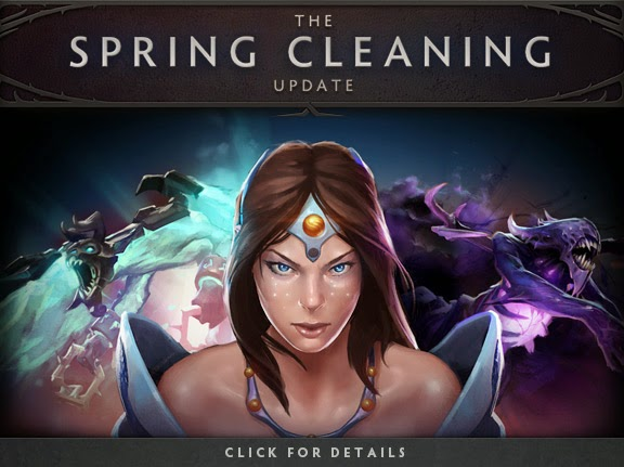 Dota2 6.81 Update Spring Cleaning