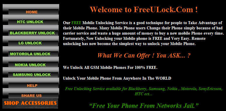 unlock blackberry unlock lg unlock motorola unlock nokia unlock