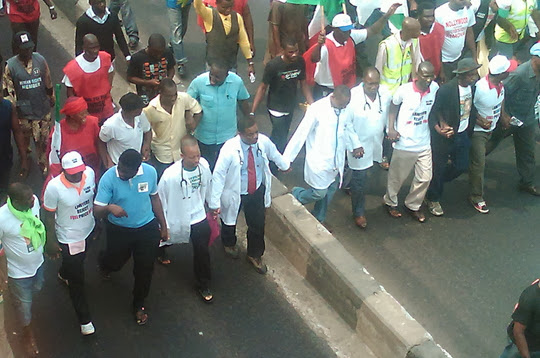 nigerian doctors warning strike 2013