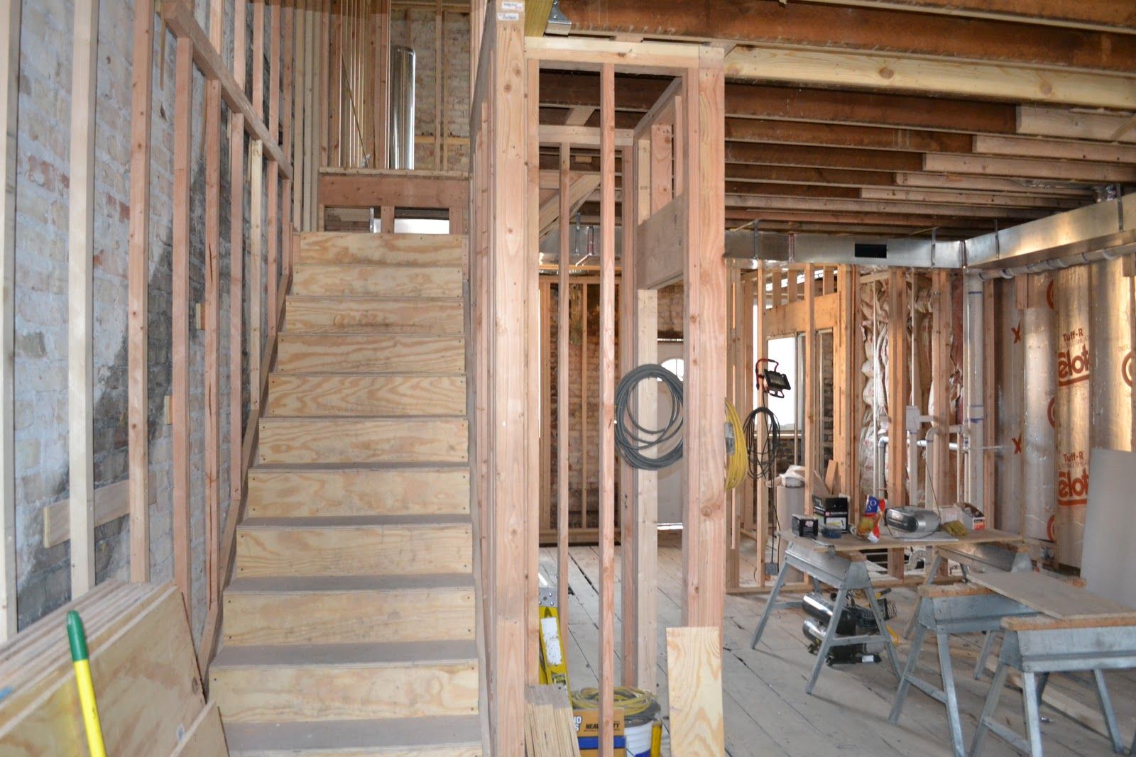 The Renovation of our 1885 Chicago Row House: Framing Near ...