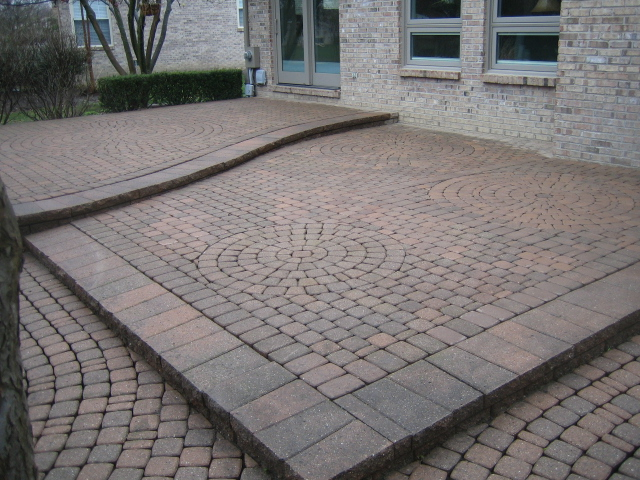 The Most Difficult Task Was To Recreate The Same Layout Of Design In The  Pavings Stones. This Particular Product, Unilocku0027s Classico St Clair Color  Has Been ...