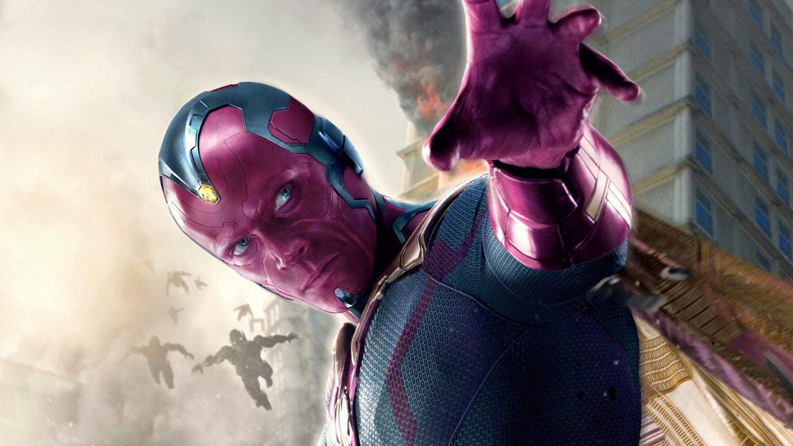Papel de Parede Filme Avengers Age of Ultron Vision para pc hd 3d grátis movie wallpaper image hd free