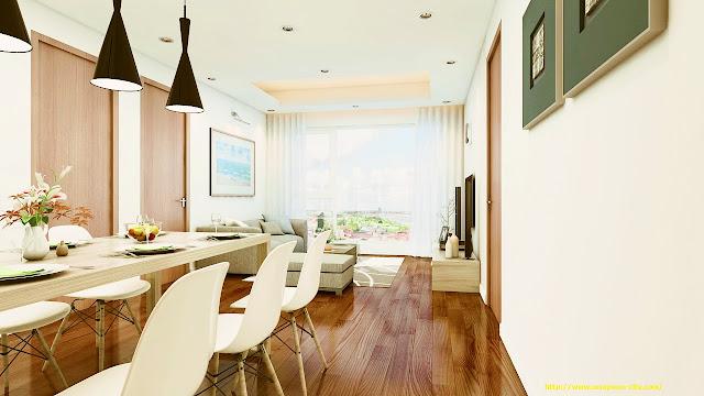 Nội thất căn hộ hoàn hảo tại Eco Green City