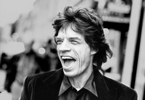 jagger happy as shit rolling stones smile mouth open