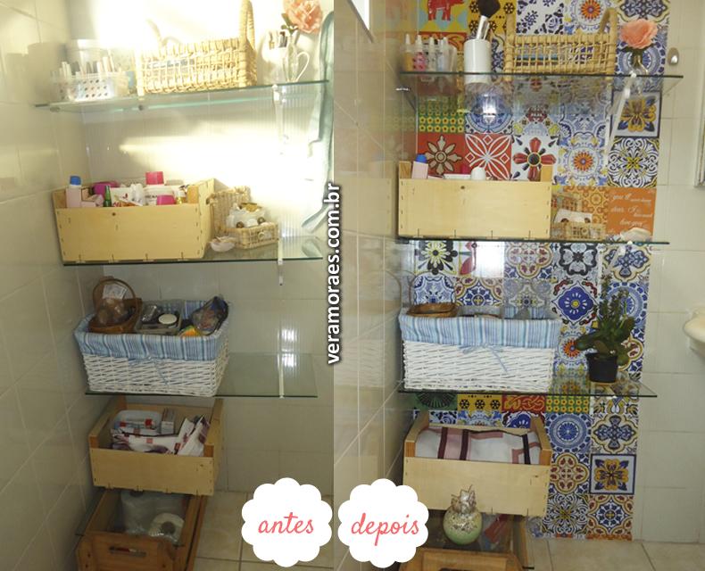blog Vera Moraes  Decoração  Adesivos Azulejos  Papelaria Personalizada   -> Decoracao De Banheiro Com Azulejos Antigos