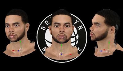 NBA 2K13 Deron Williams Cyberface Mod