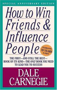 Portada americana de Cómo ganar amigos e influir sobre las personas, de Dale Carnagie