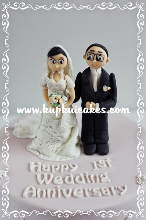 Kupkui Cakes Wedding Anniversary Cake
