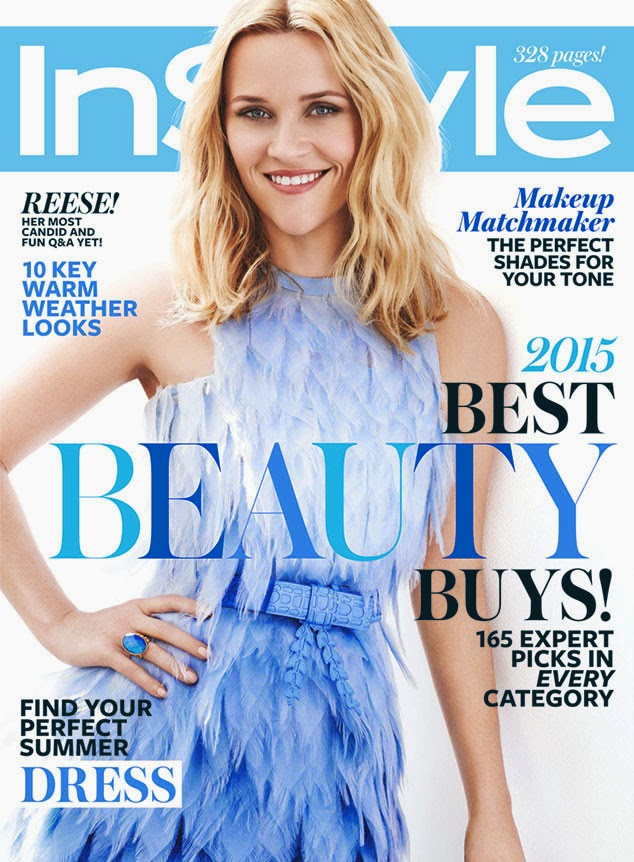 Actress @ Reese Witherspoon - InStyle May 2015