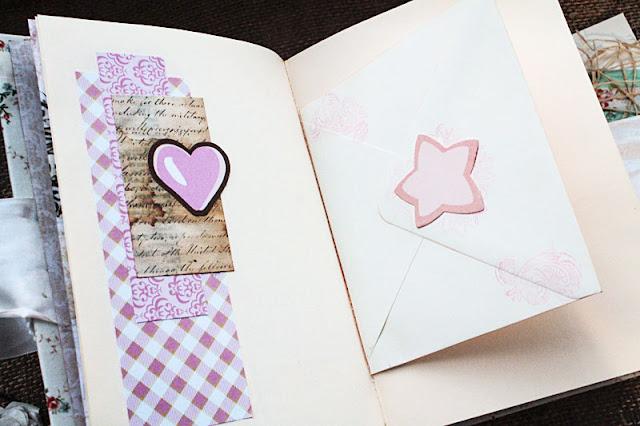 @marina syskova  #marinasyskova #scrapbooking #scrapbook #notebook #babybook