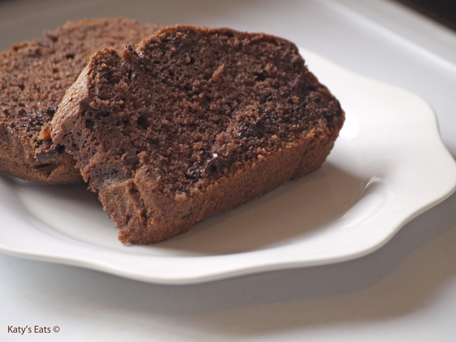 Gateau quatre quart moelleux au chocolat