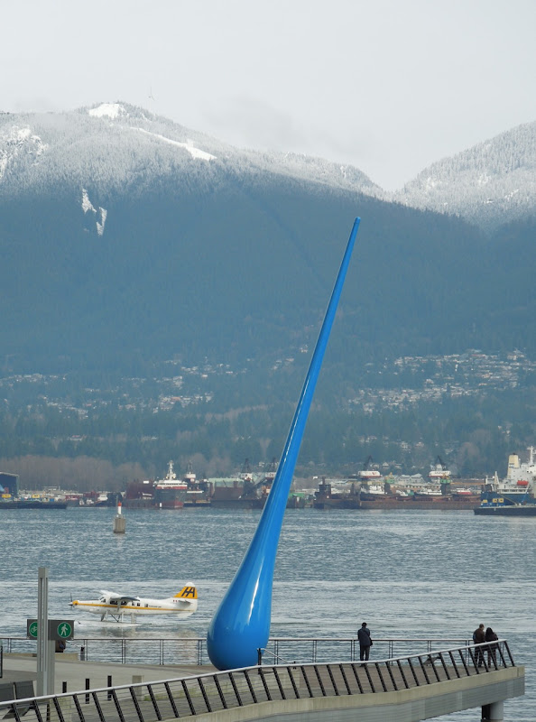 The Drop sculpture Inges Idee Vancouver