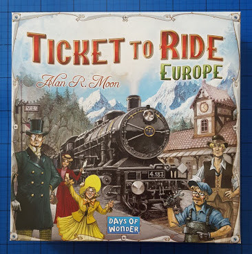 Ticket To Ride: European Edition Family Game Review And Giveaway
