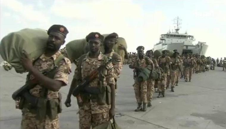 Tentara Sudan Mendarat di Pelabuhan Aden