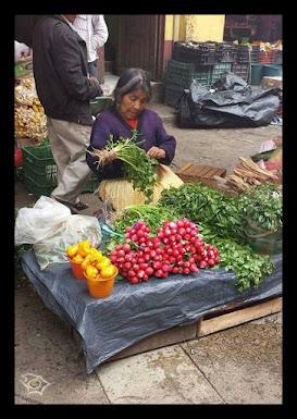 Allá en México donde entrar a un mercado es poner a prueba el olfato y la vista.