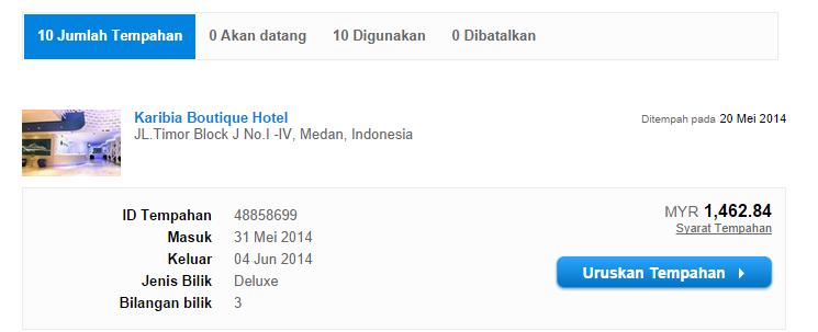 Karibia Boutique Hotel Medan aiza89 agoda harga