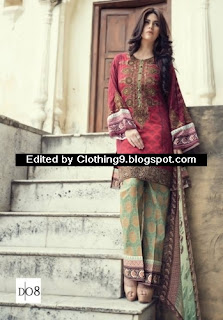 MARIA-B Eid Luxury Lawn Dresses Catalogue 2015