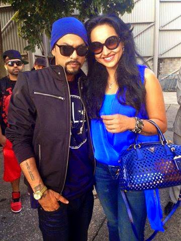 Bohemia with Sonakshi Sinha 2014