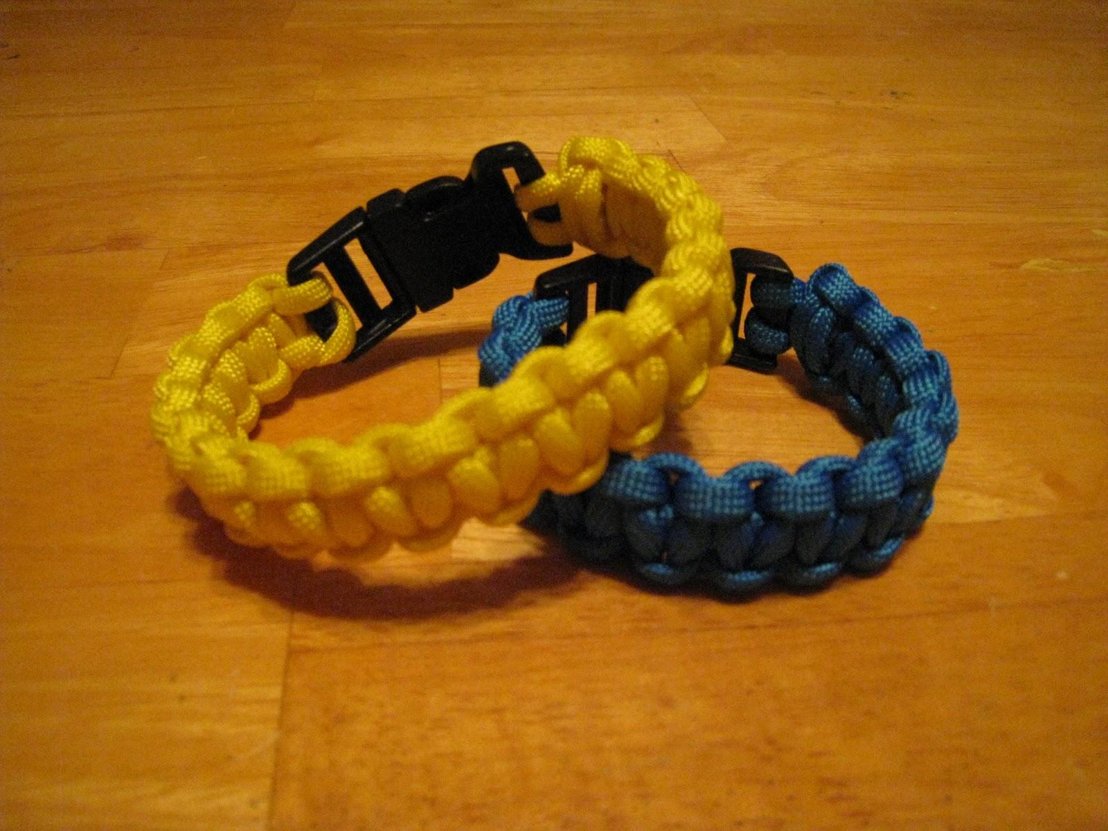 Crafts 4 Camp Paracord Survival Bracelet