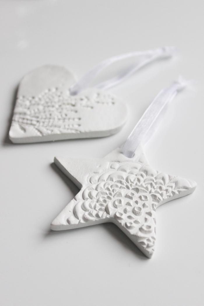 Clay ornaments | Saviset joulukoristeet