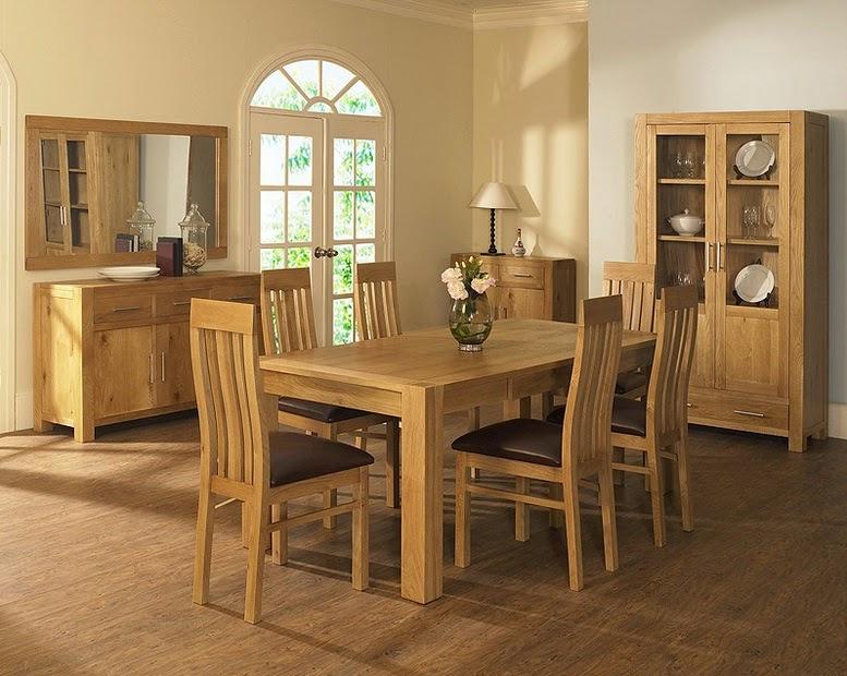 Dark Oak Dining Room Sets