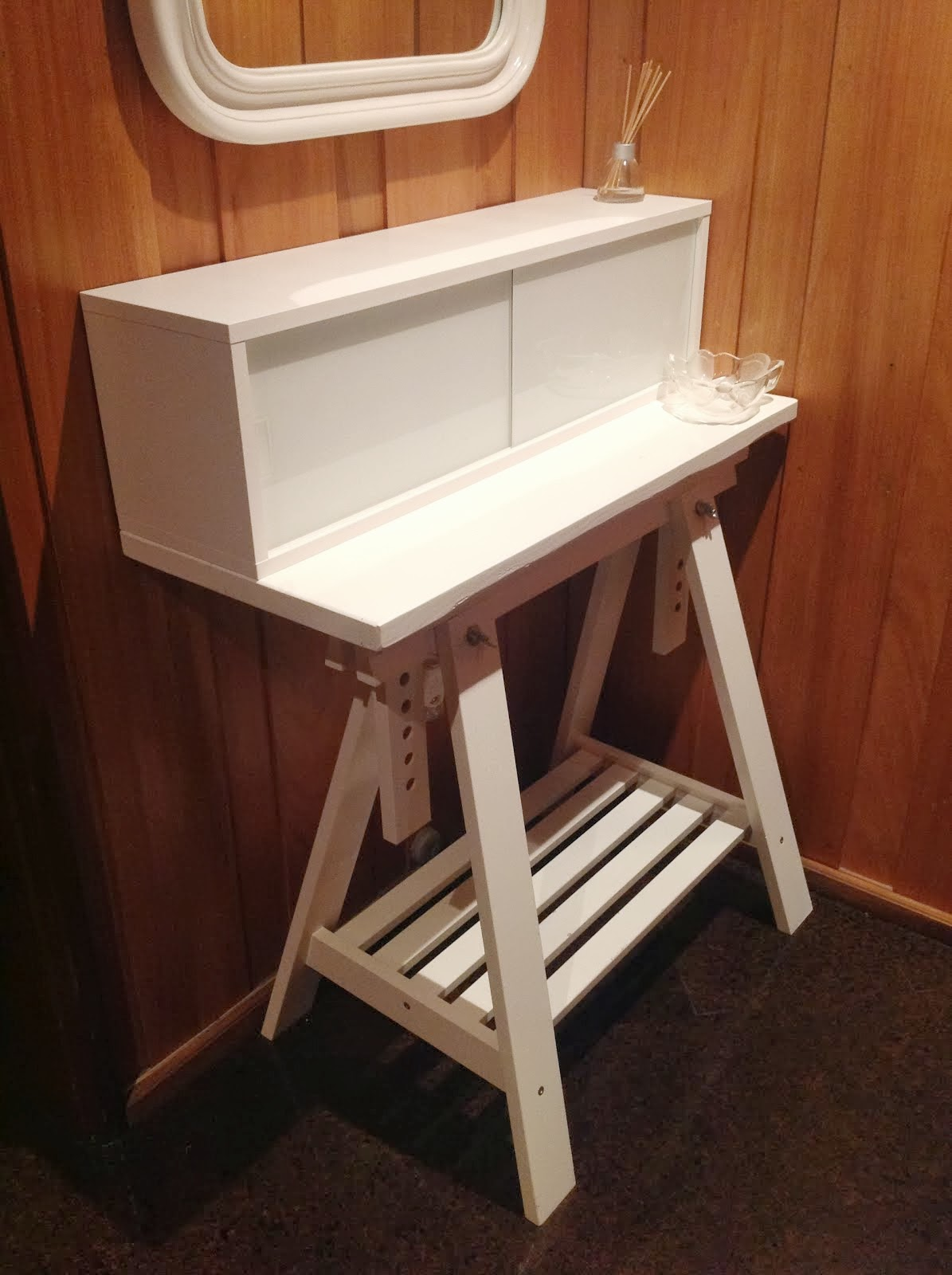 White Wedding Console Ikea Hackers Ikea Hackers