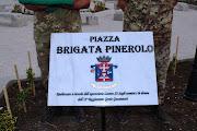 """LA TARGA RICORDO BRIGATA """"PINEROLO"""""""
