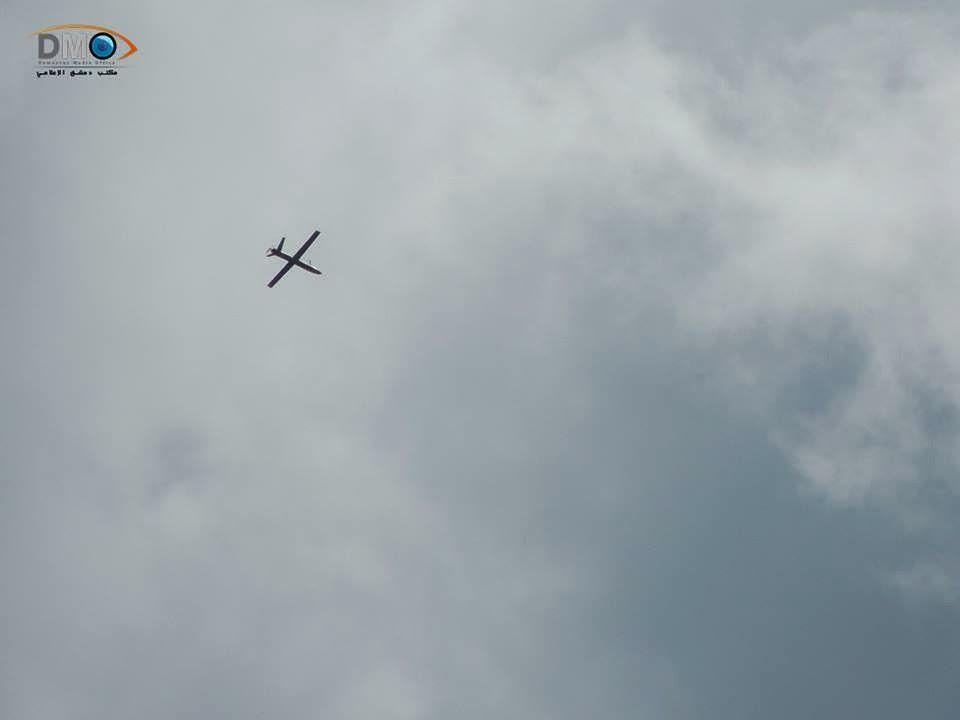 Guerre Civile en Syrie ( LISEZ LE PREMIER POST ! ) UAV+SHAHED-129+Damascus+-+Eastern+Ghouta+10-04-2014