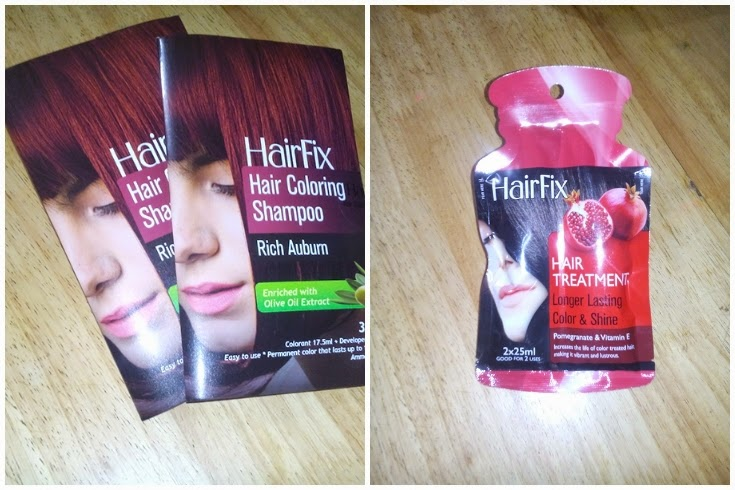 Jamie\'s Files: DIY Hair Coloring - HairFix Coloring Shampoo