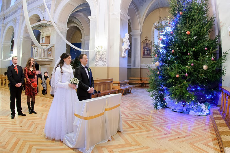 vestuvės per kalėdas