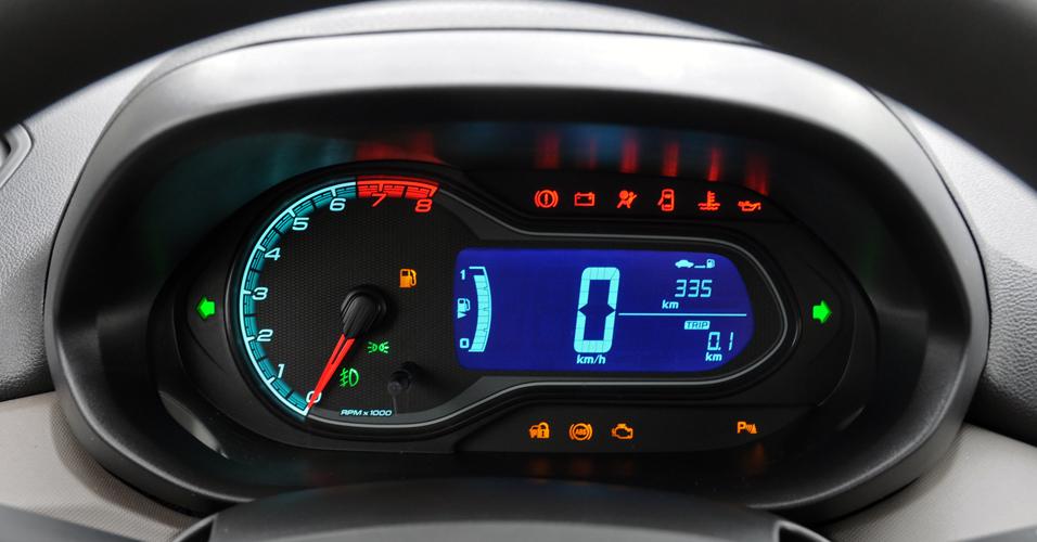 novo Chevrolet Prisma 2014 painel