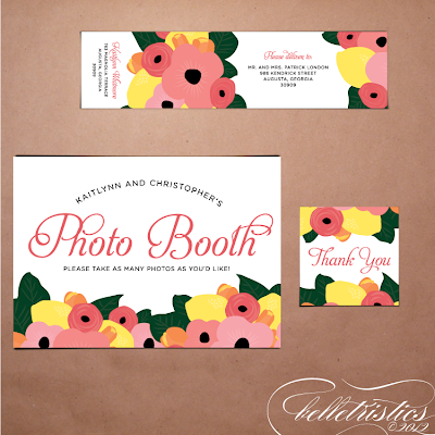 printable diy floral citrus hand drawn wedding reception signs