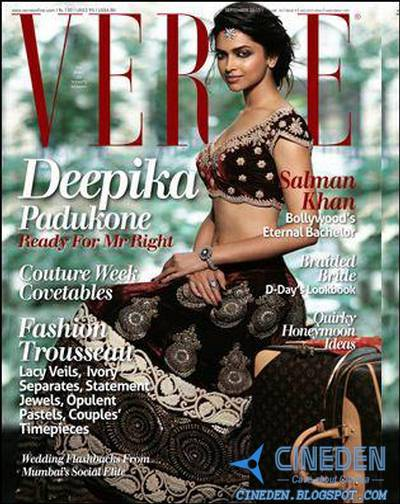 Deepika Padukone on Verve Magazine September 2010