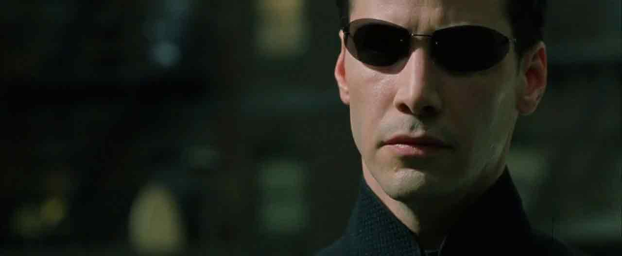Screen Shot Of Hollywood Movie The Matrix 2 (2003) In Hindi English Full Movie Free Download And Watch Online at worldfree4u.com