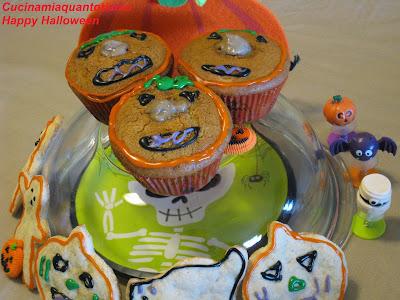 muffin happy halloween
