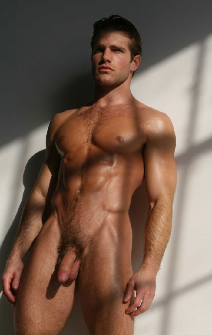 Have Nude male model full body can not