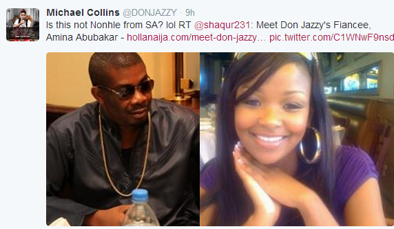 don jazzy proposed to atiku daughter
