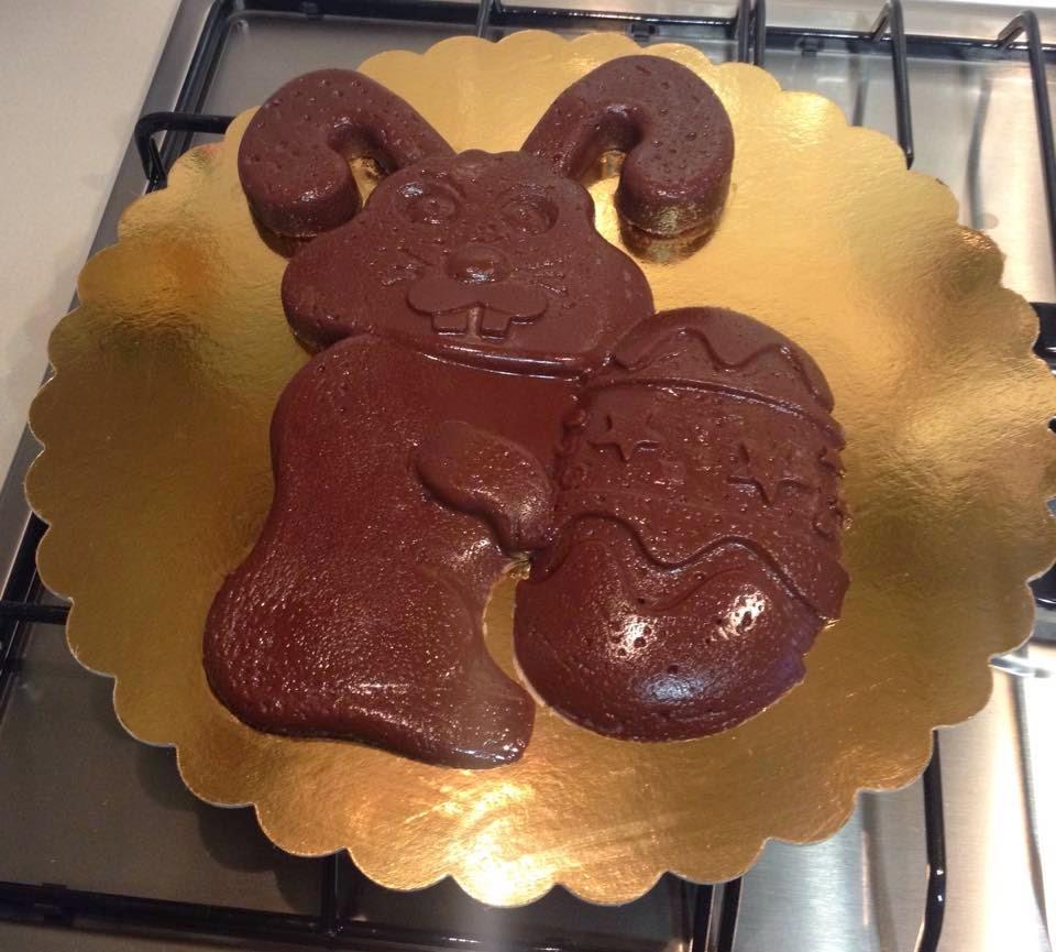 Coniglio cioccolato