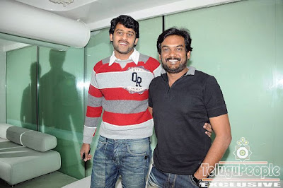 Prabhas with director puri jagannath at Liquids
