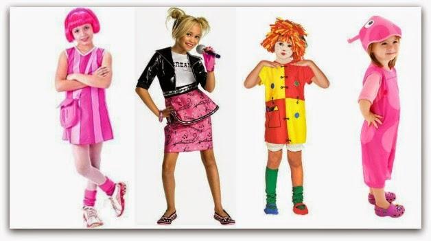 Fantasia de carnaval para criança