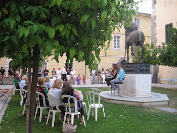 """Presentazione di """"Prima che sia Buio"""", Galleria d'arte Barbara Paci, Pietrasanta, 16 Luglio 2011"""